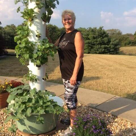 Tennessee Urban Farm | Mona with Tower Garden ®