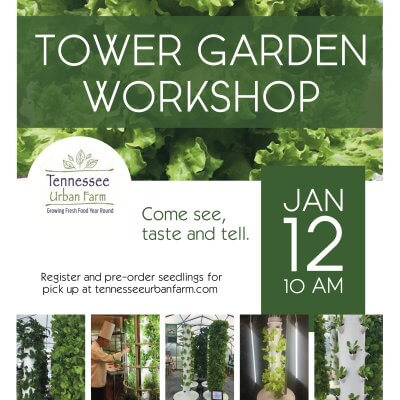 Tennessee Urban Farm | TG Workshop January 12, 2019